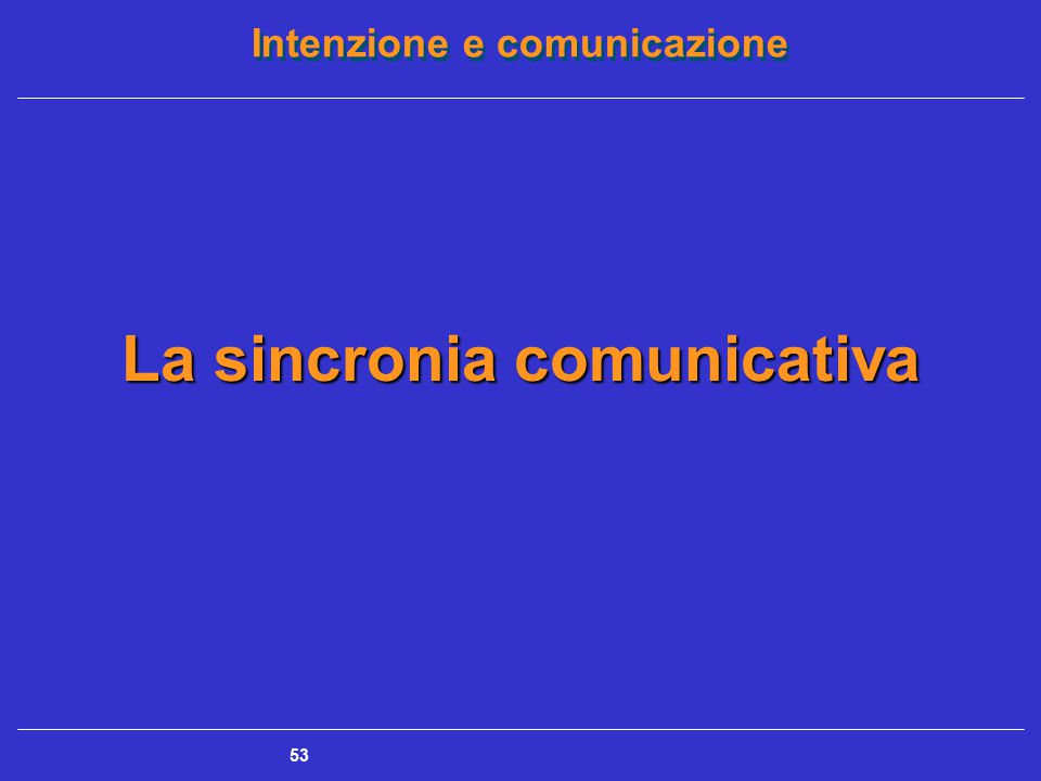 La sincronia comunicativa