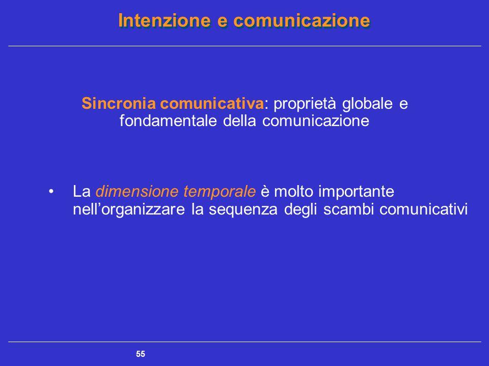 Sincronia comunicativa: proprietà globale e