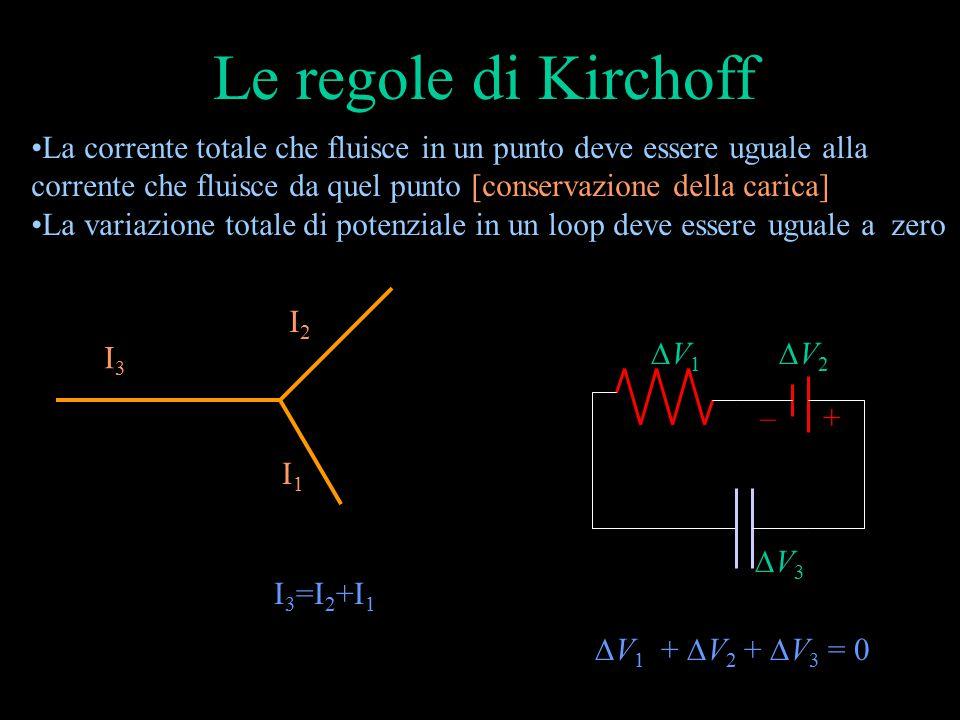 Le regole di Kirchoff