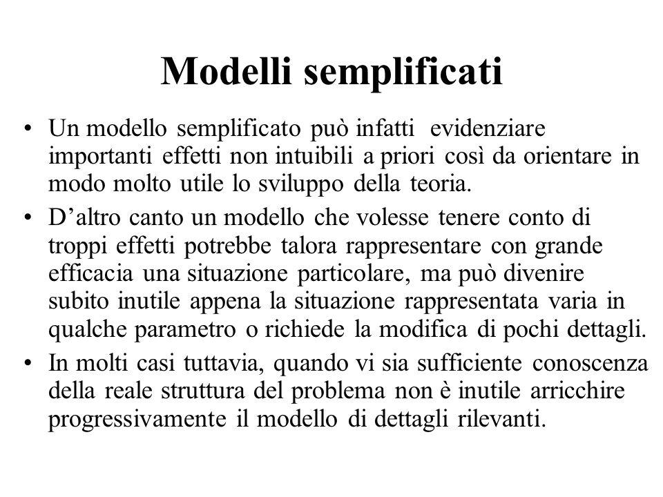 Modelli semplificati