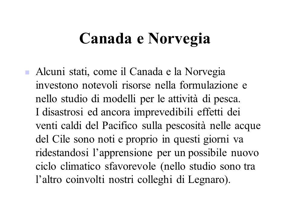 Canada e Norvegia