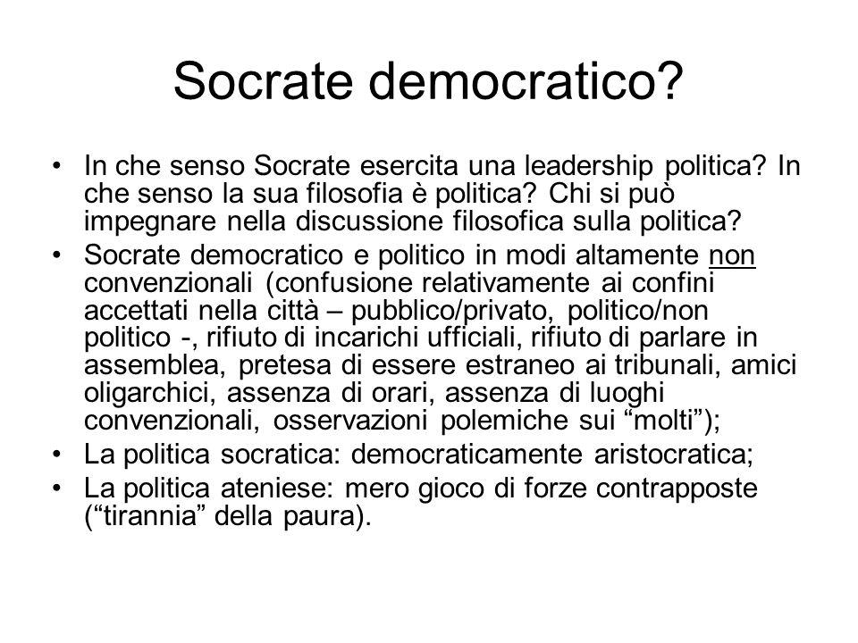 Socrate democratico