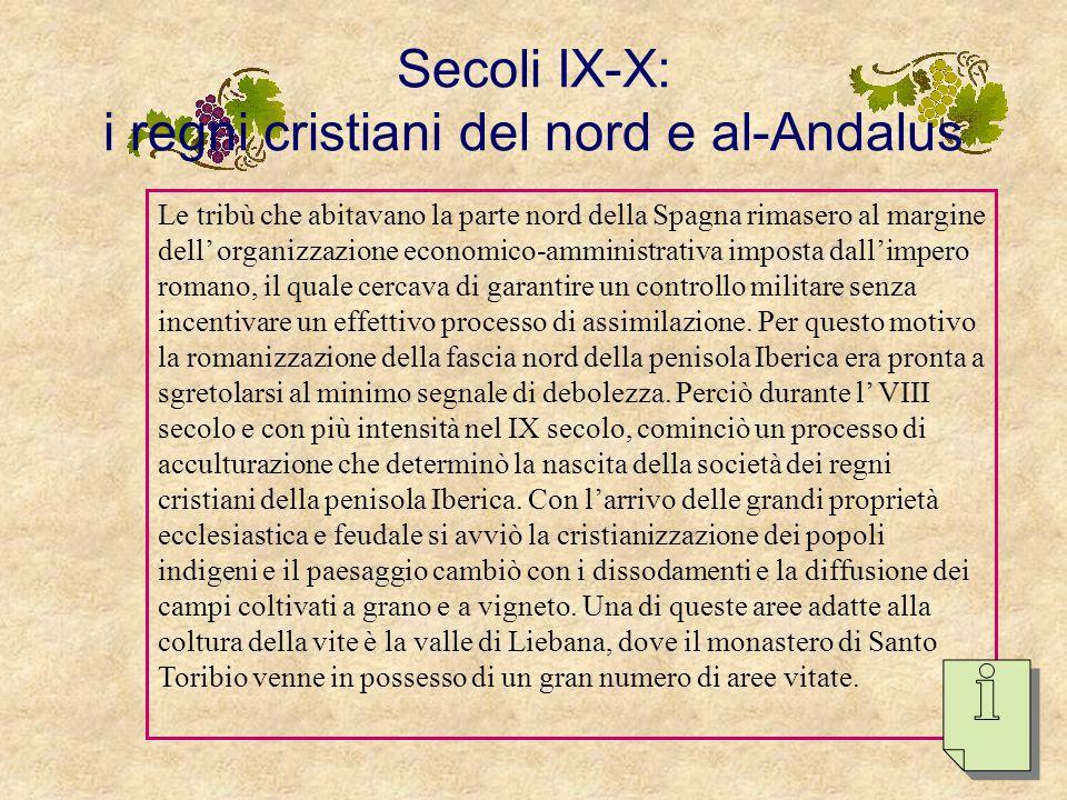 Secoli IX-X: i regni cristiani del nord e al-Andalus