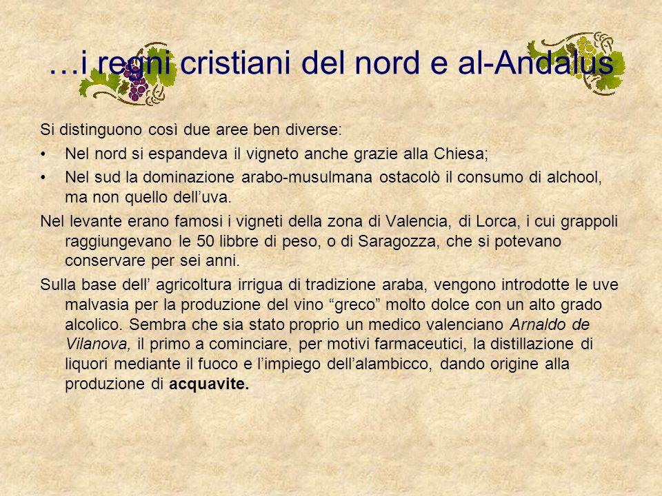 …i regni cristiani del nord e al-Andalus