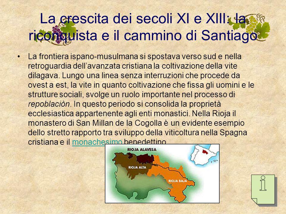 La crescita dei secoli XI e XIII: la riconquista e il cammino di Santiago
