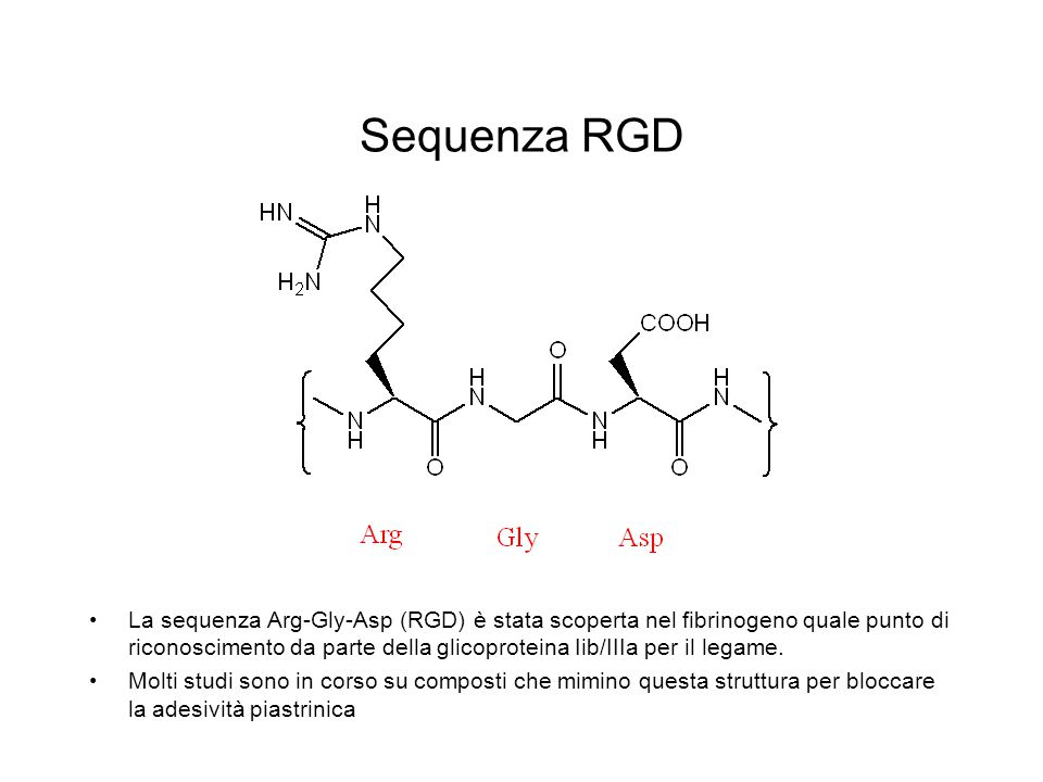 Sequenza RGD