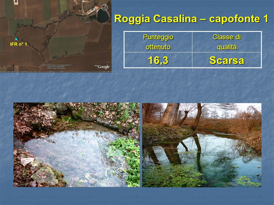 Roggia Casalina – capofonte 1