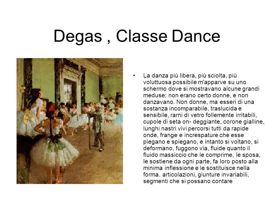 Degas , Classe Dance