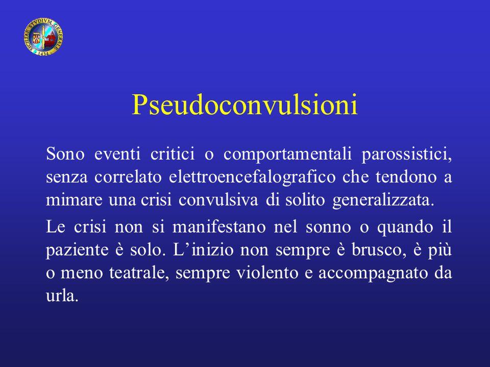 Pseudoconvulsioni