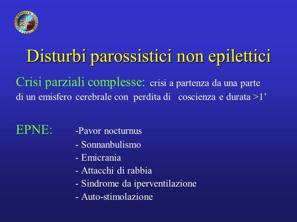 Disturbi parossistici non epilettici