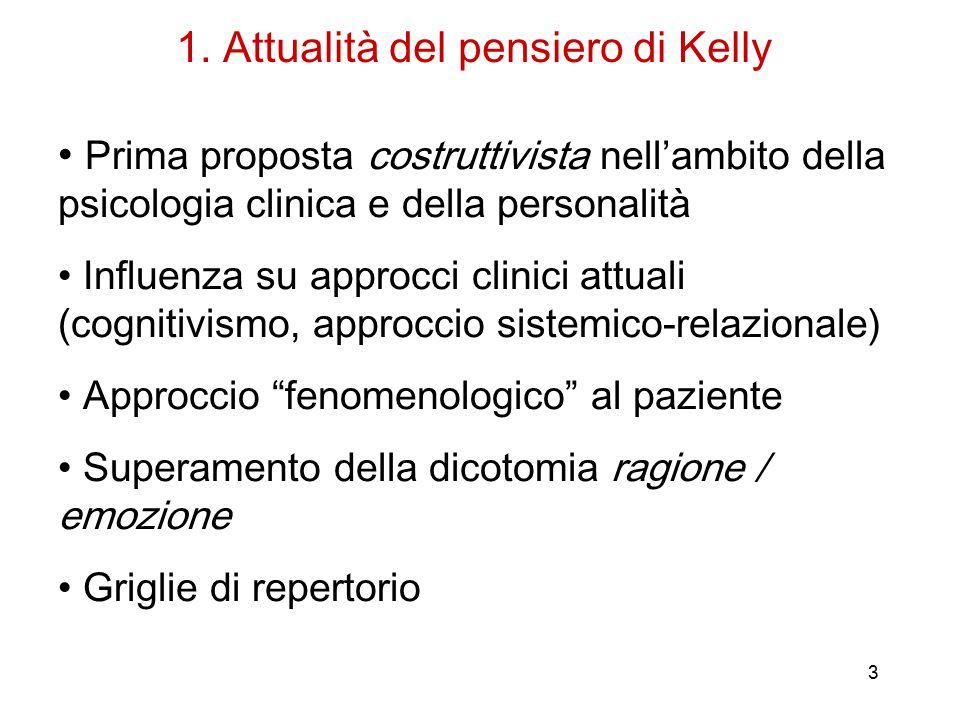 1. Attualità del pensiero di Kelly
