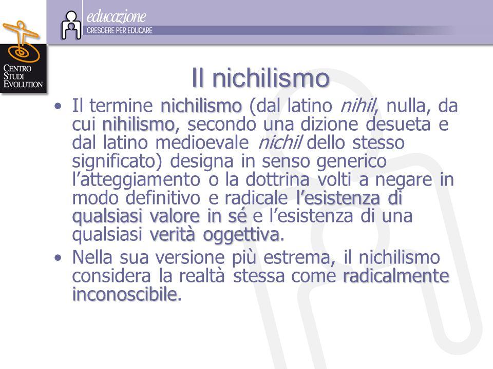Il nichilismo