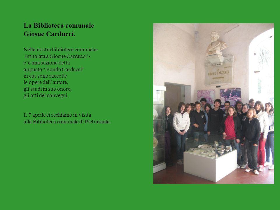 La Biblioteca comunale Giosue Carducci.