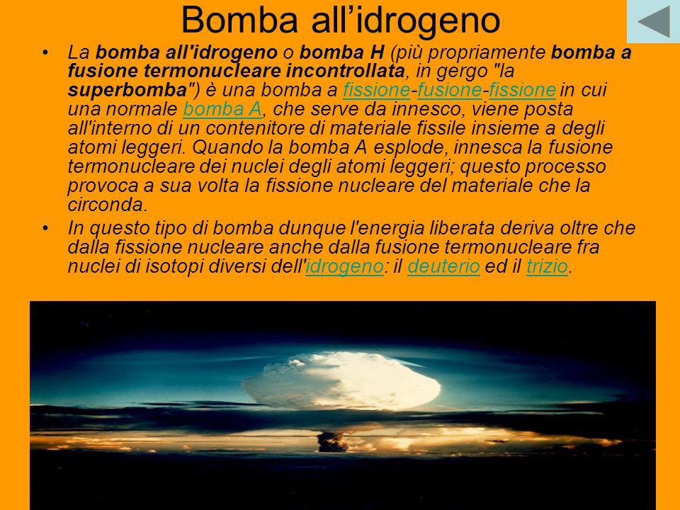 Bomba all'idrogeno