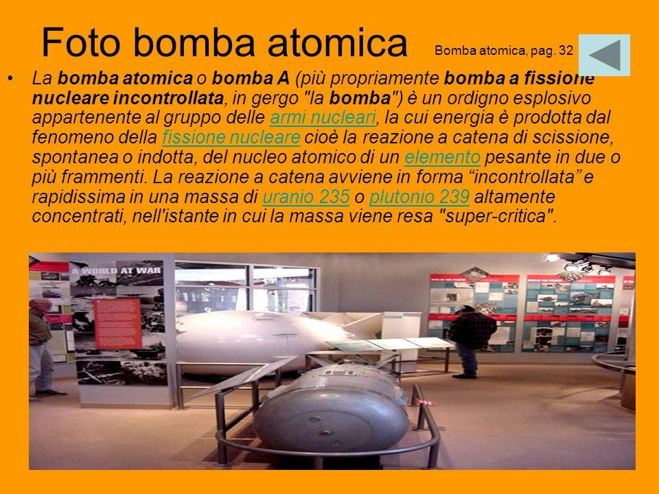 Foto bomba atomica Bomba atomica, pag. 32.