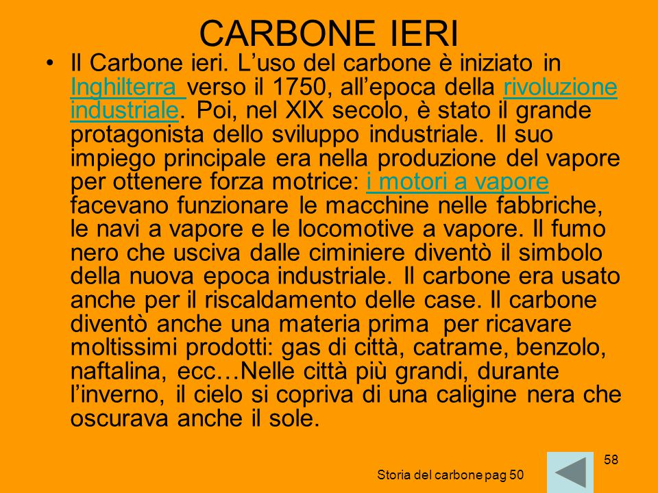CARBONE IERI