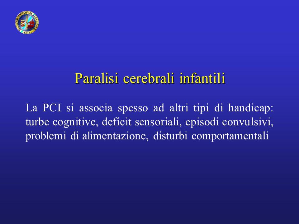 Paralisi cerebrali infantili