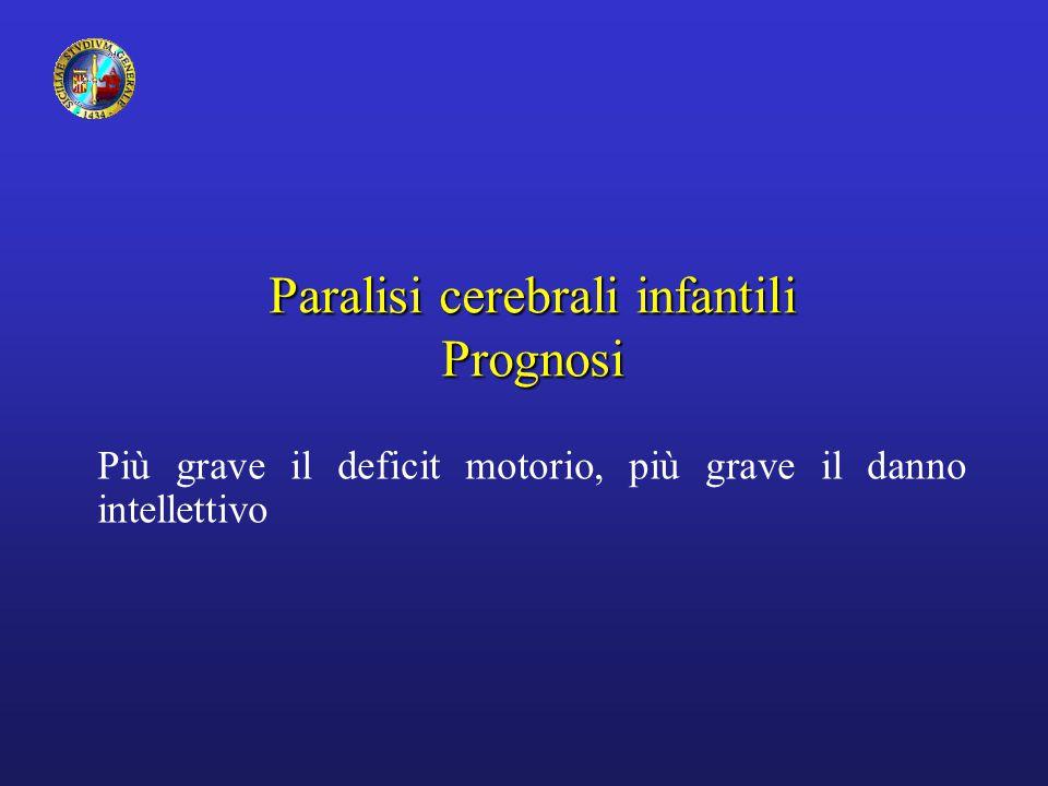 Paralisi cerebrali infantili Prognosi
