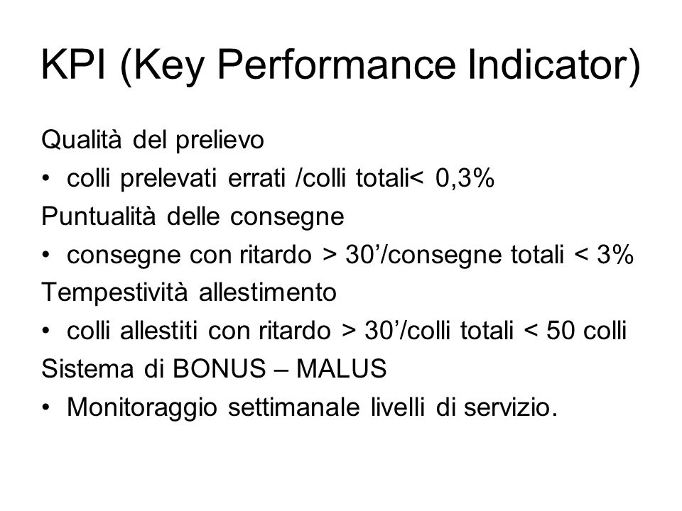 KPI (Key Performance Indicator)