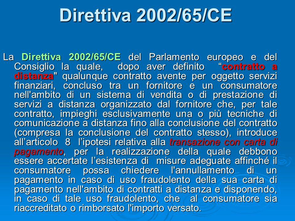Direttiva 2002/65/CE
