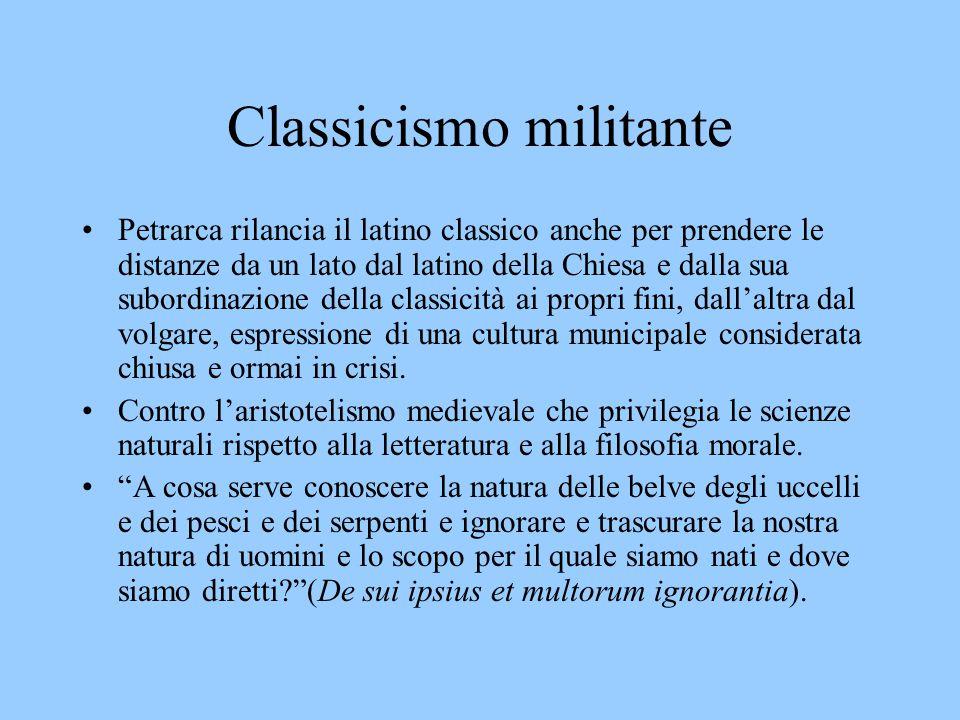 Classicismo militante