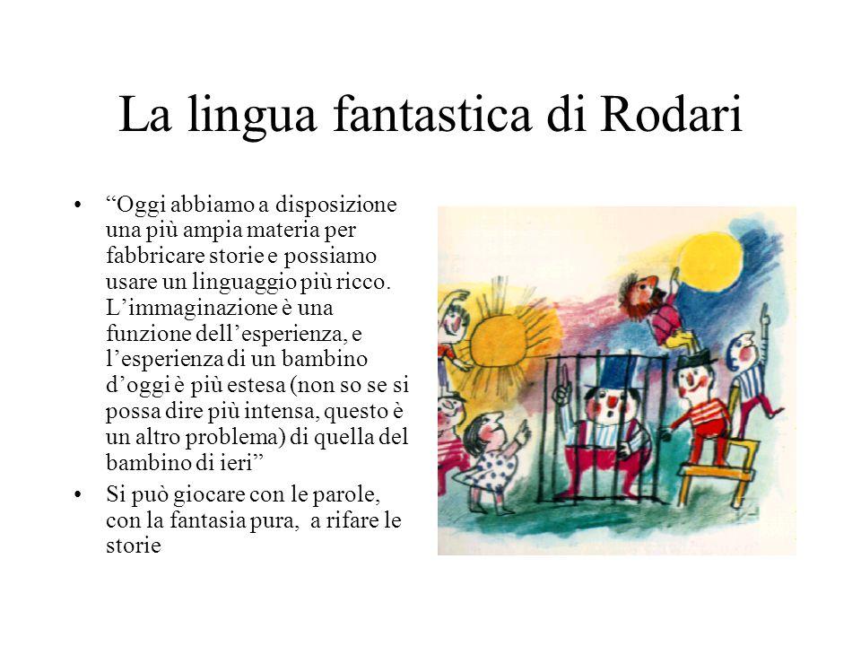 La lingua fantastica di Rodari