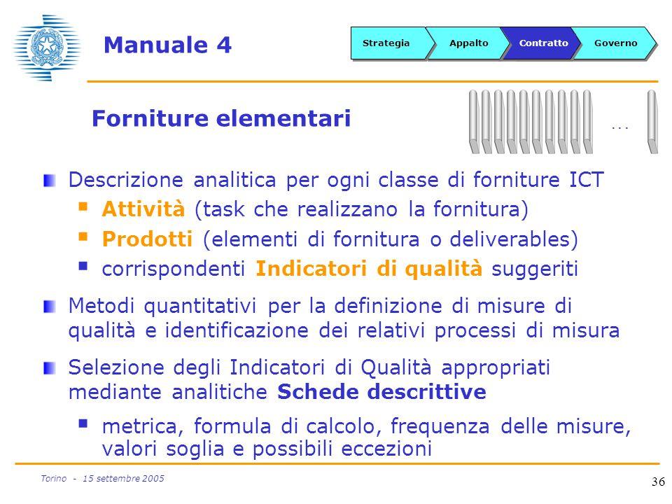 Manuale 4 Forniture elementari