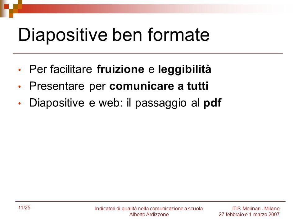 Diapositive ben formate