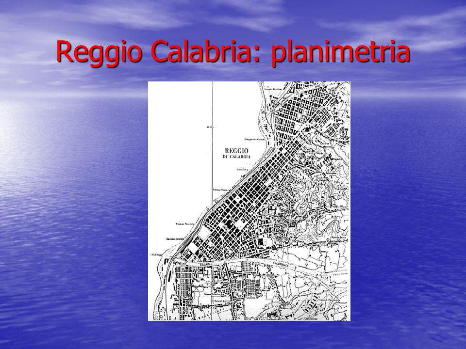 Reggio Calabria: planimetria
