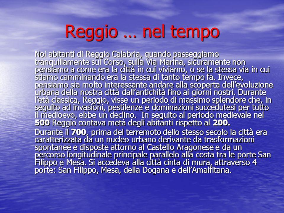 Reggio … nel tempo