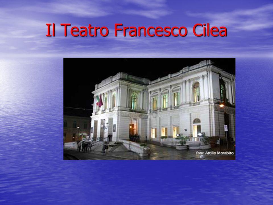 Il Teatro Francesco Cilea