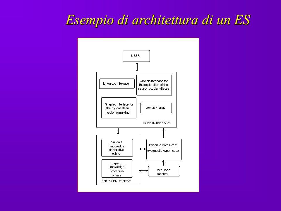 Esempio di architettura di un ES
