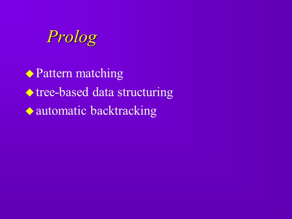 Prolog Pattern matching tree-based data structuring