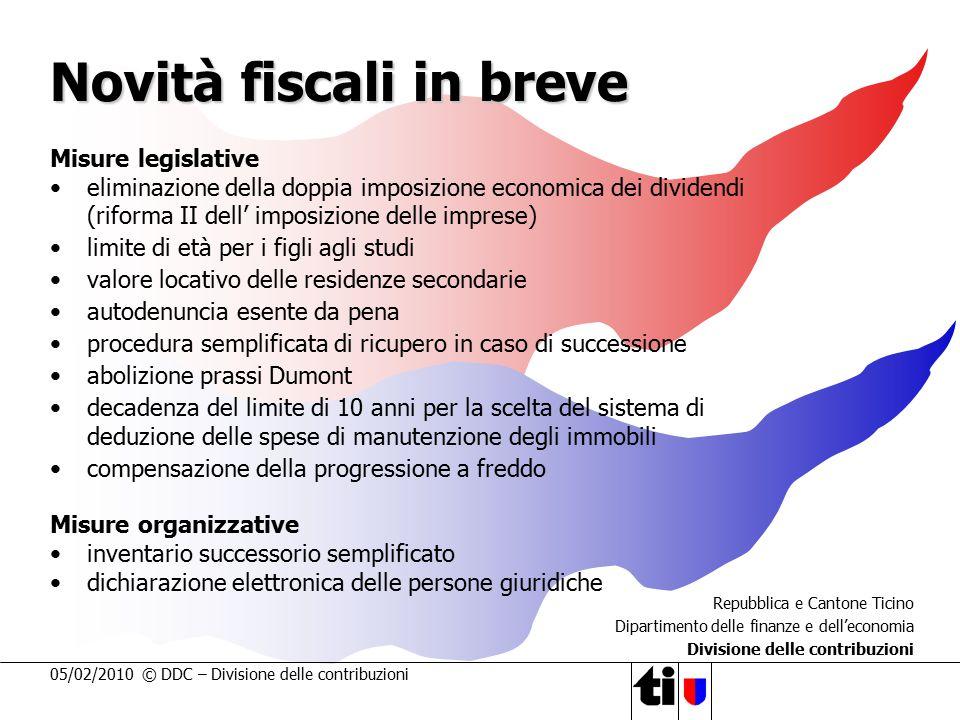 Novità fiscali in breve