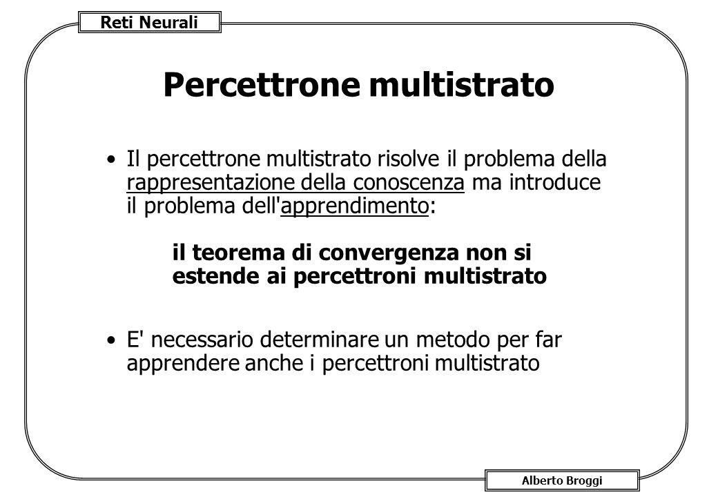 Percettrone multistrato