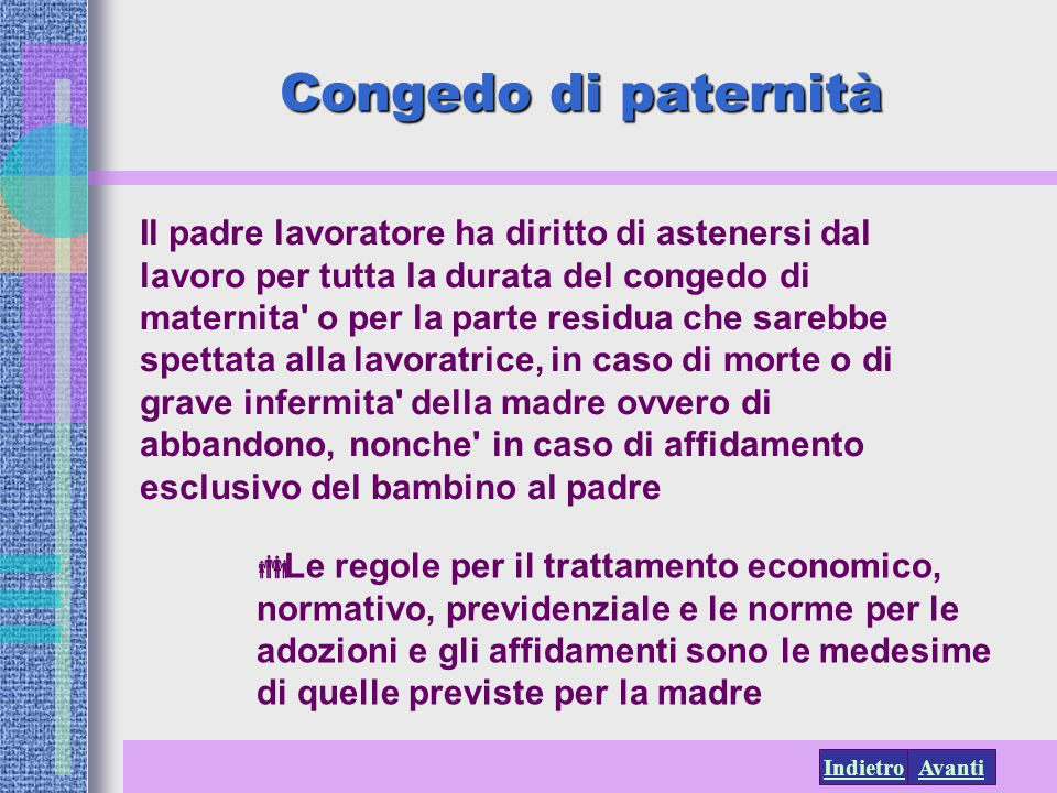 Congedo di paternità