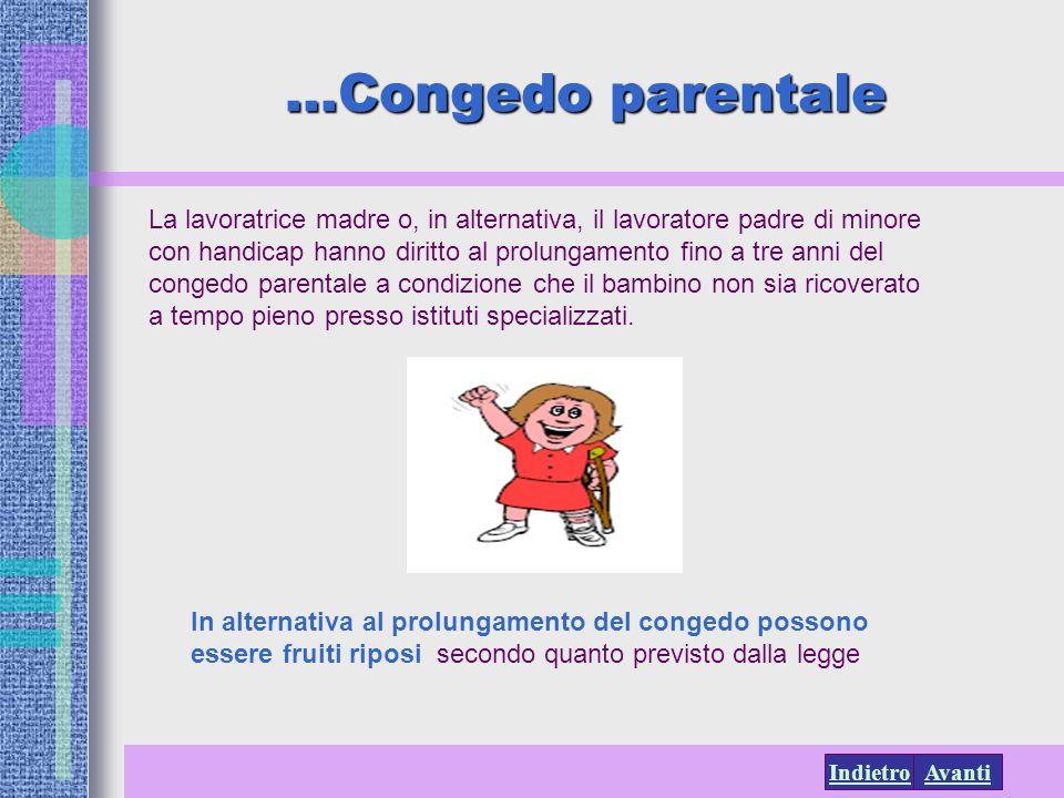 …Congedo parentale