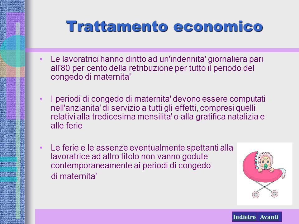 Trattamento economico