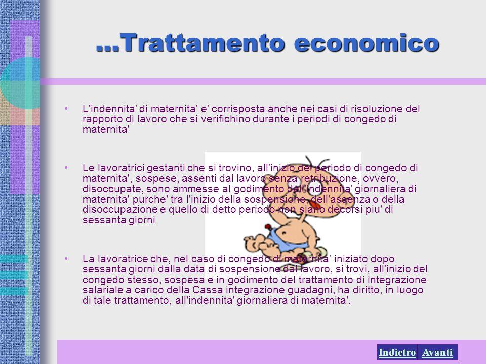 …Trattamento economico