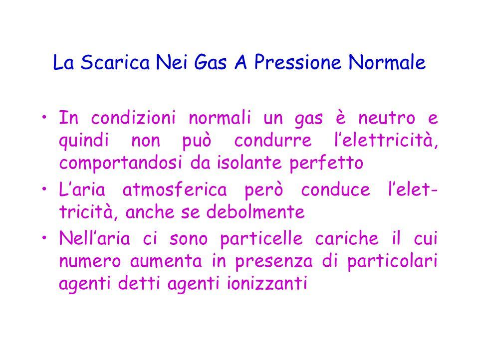 La Scarica Nei Gas A Pressione Normale