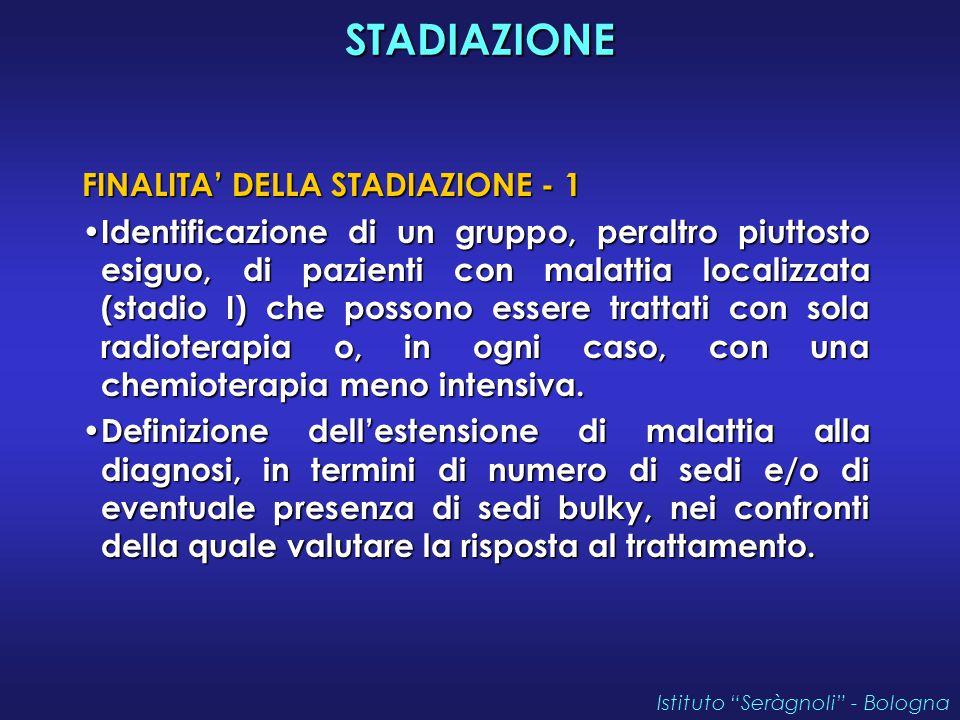 STADIAZIONE FINALITA' DELLA STADIAZIONE - 1