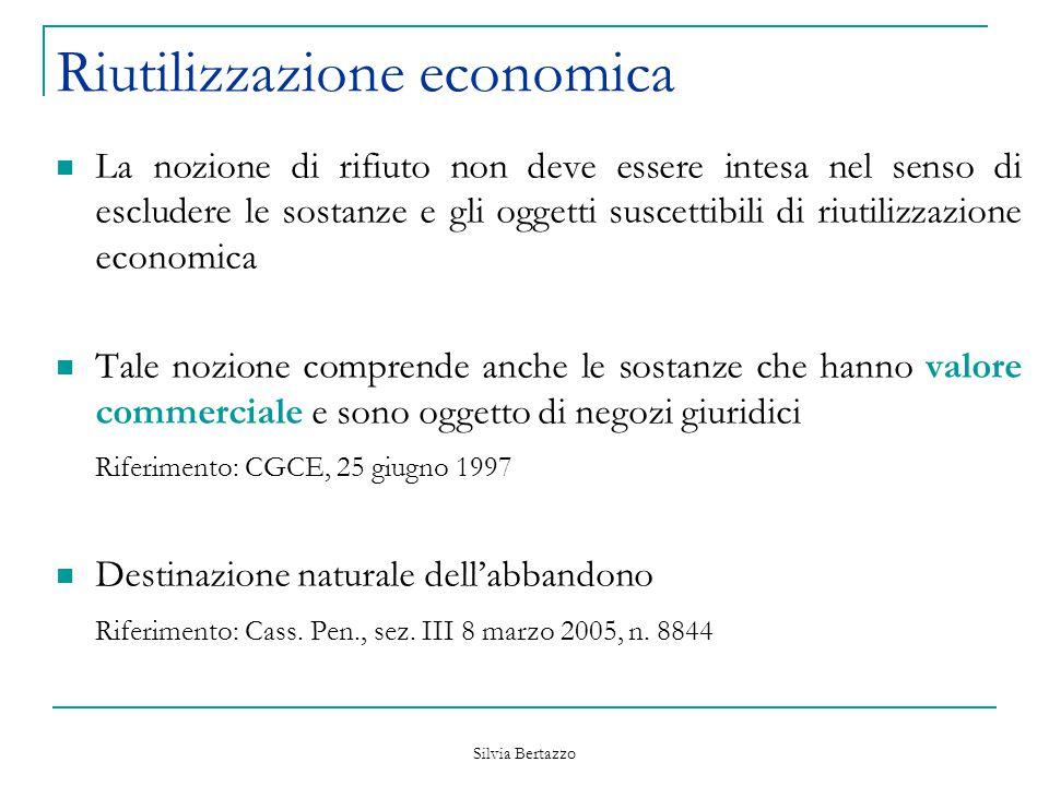 Riutilizzazione economica