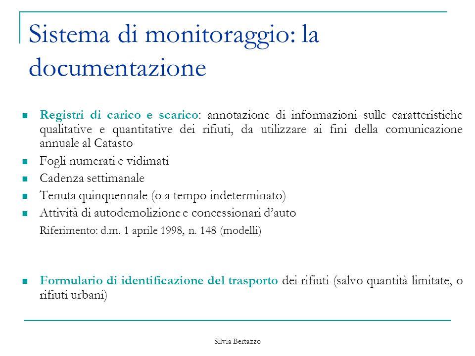 Sistema di monitoraggio: la documentazione