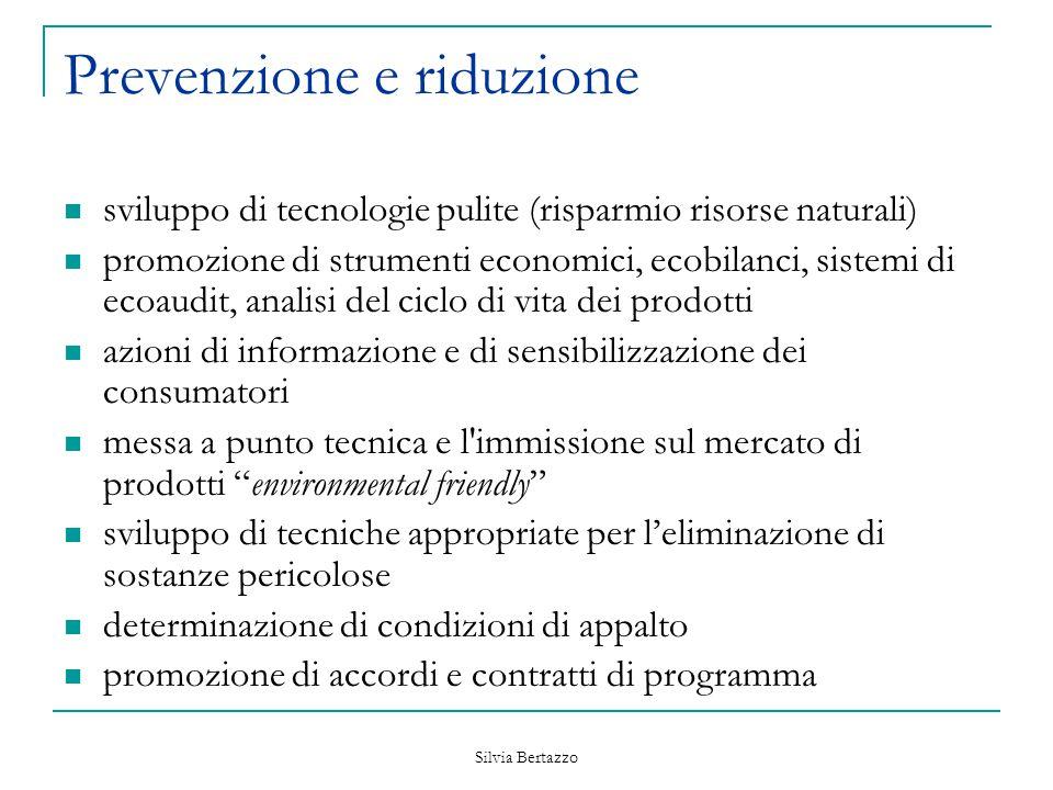 Prevenzione e riduzione