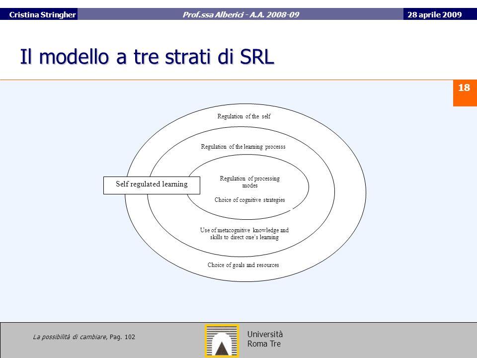 Il modello a tre strati di SRL