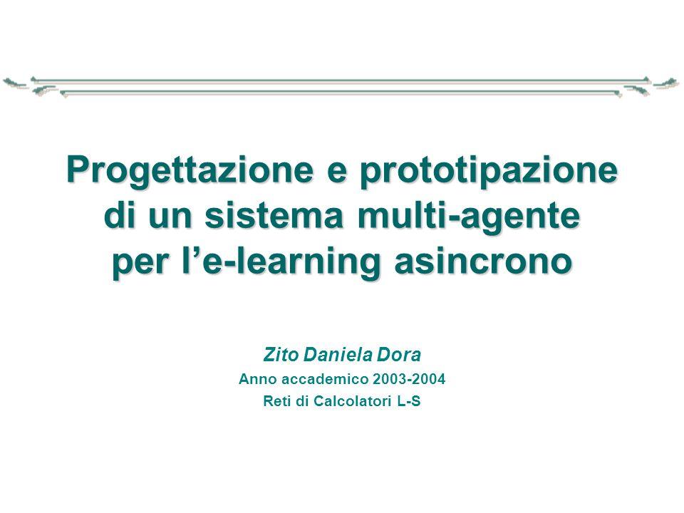 Zito Daniela Dora Anno accademico 2003-2004 Reti di Calcolatori L-S