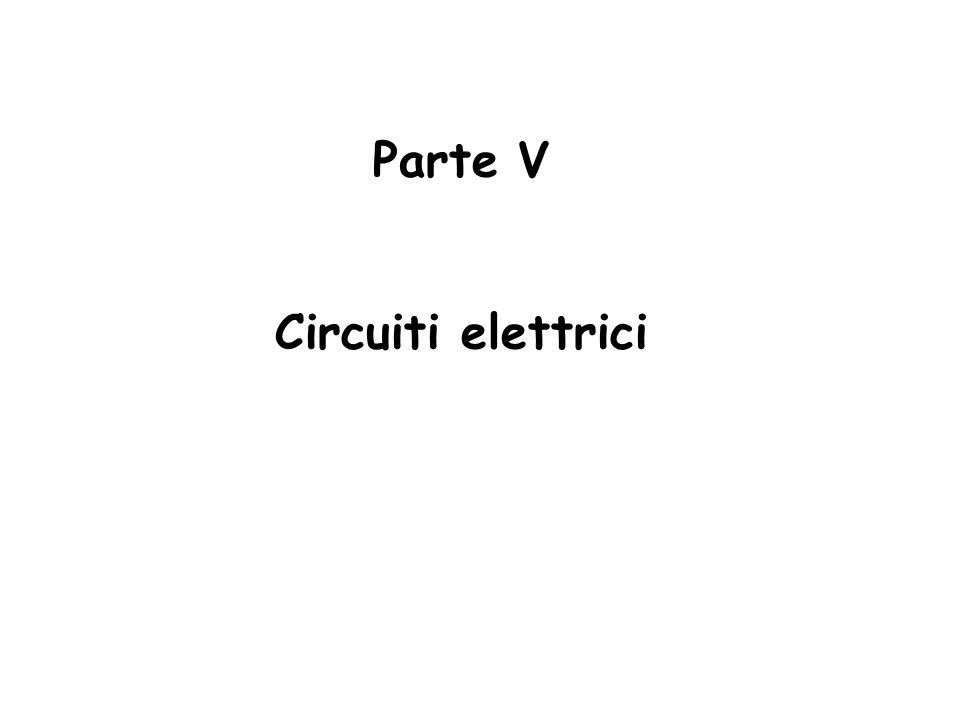 Parte V Circuiti elettrici