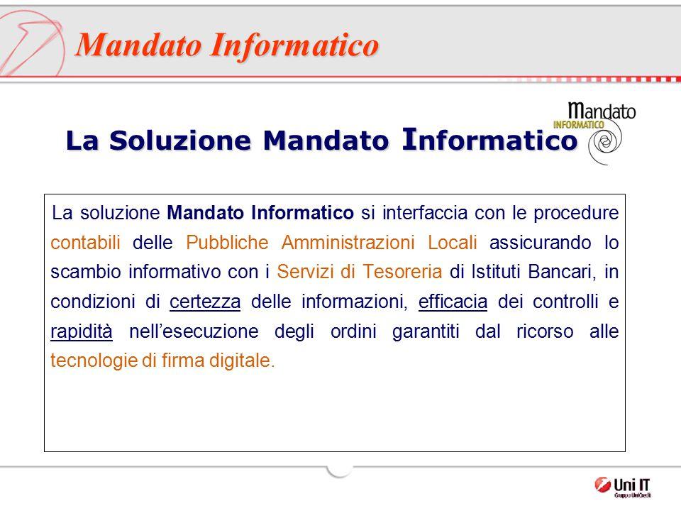 La Soluzione Mandato Informatico