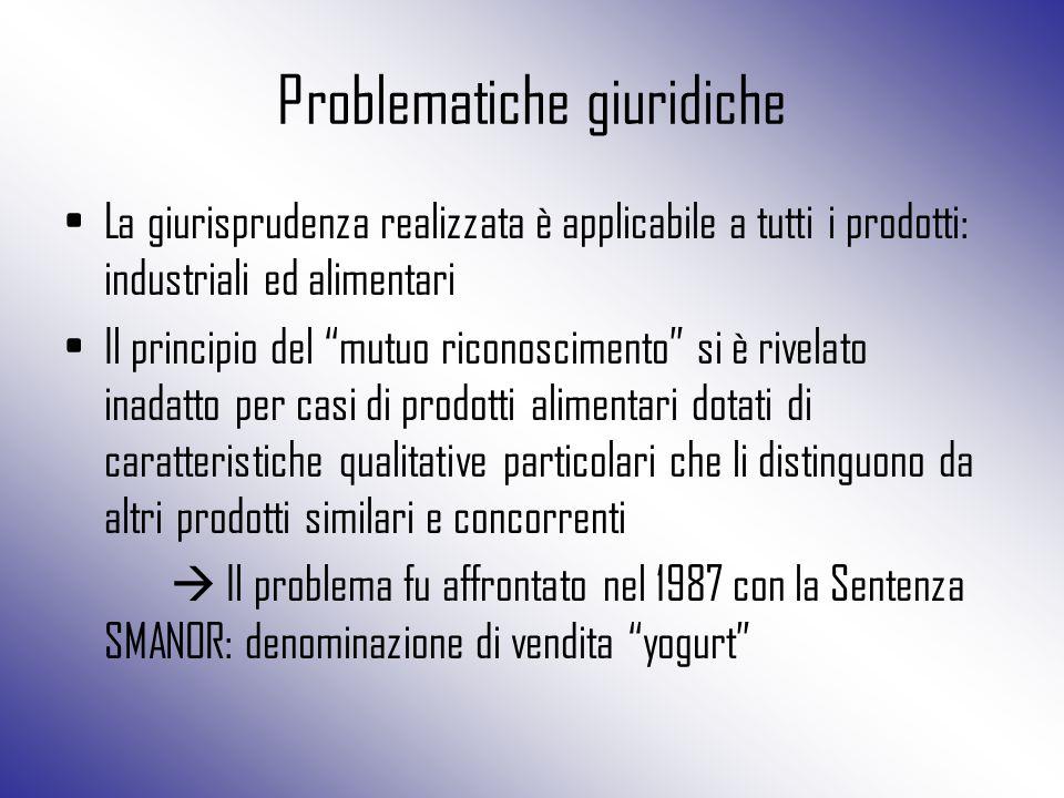 Problematiche giuridiche