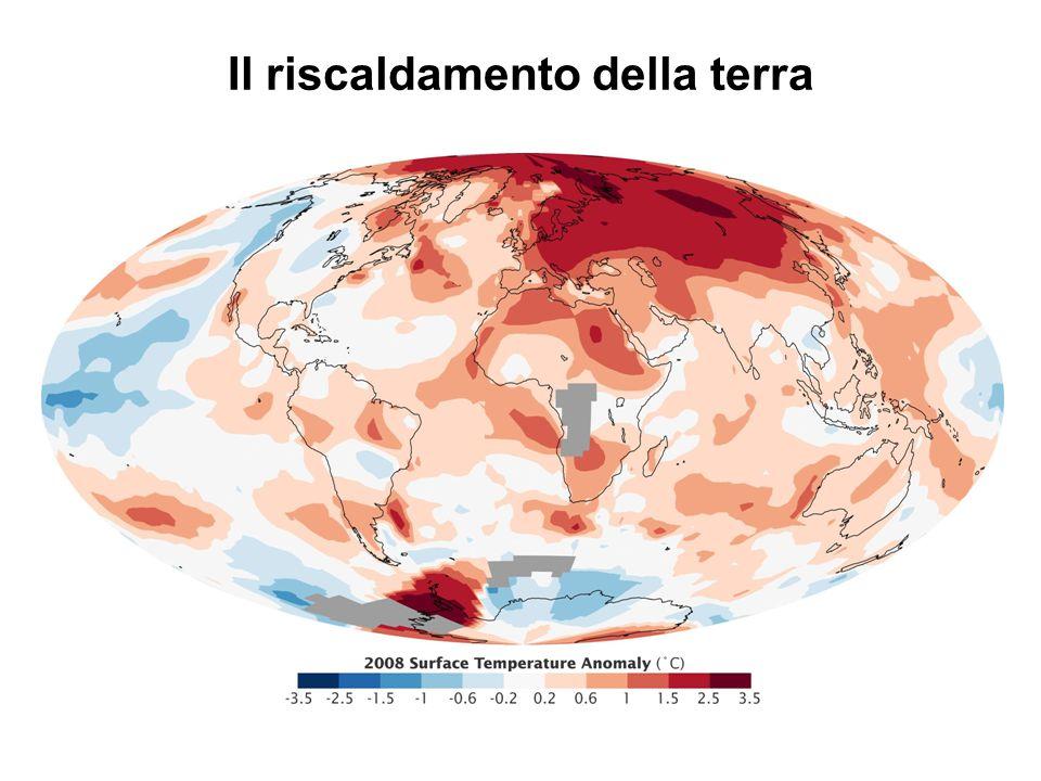 Il riscaldamento della terra
